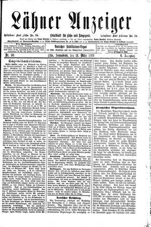 Lähner Anzeiger vom 13.03.1909