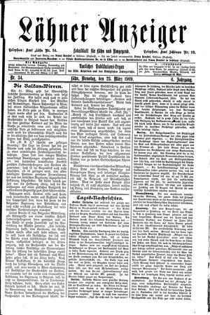 Lähner Anzeiger on Mar 23, 1909