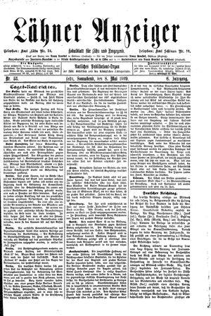 Lähner Anzeiger vom 08.05.1909