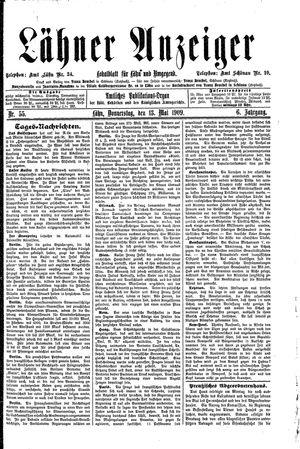 Lähner Anzeiger vom 13.05.1909
