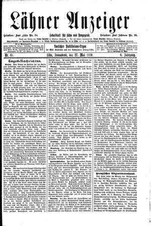 Lähner Anzeiger vom 27.05.1909