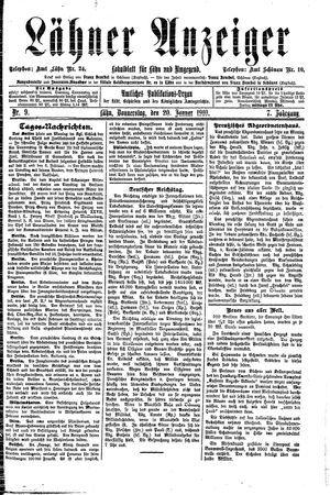 Lähner Anzeiger on Jan 20, 1910