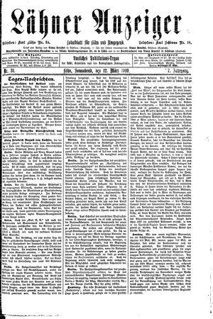 Lähner Anzeiger on Mar 12, 1910