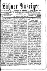 Lähner Anzeiger (21.10.1911)