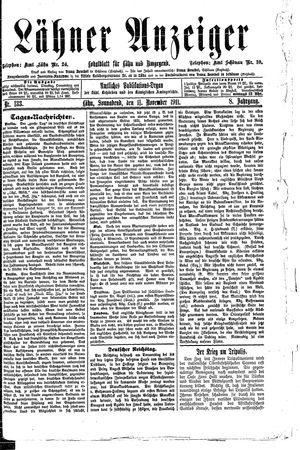 Lähner Anzeiger on Nov 11, 1911