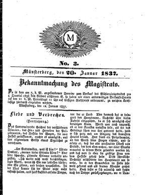 M vom 20.01.1837