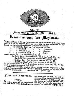M vom 03.03.1837