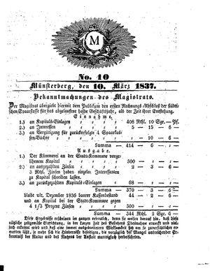 M vom 10.03.1837