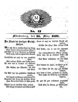 M vom 31.03.1837