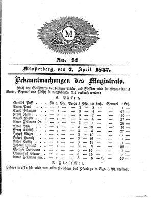 M vom 07.04.1837