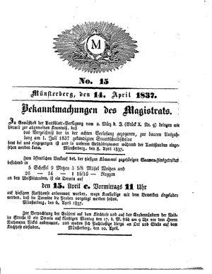 M vom 14.04.1837
