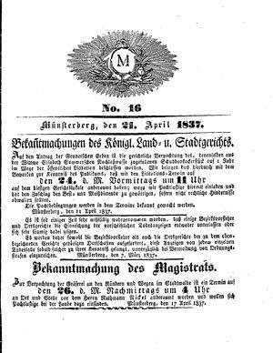 M vom 21.04.1837