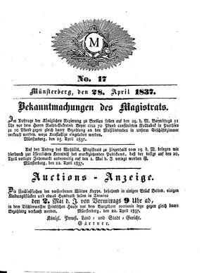 M vom 28.04.1837