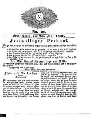 M vom 26.05.1837
