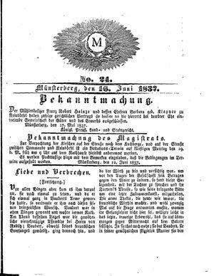 M vom 16.06.1837