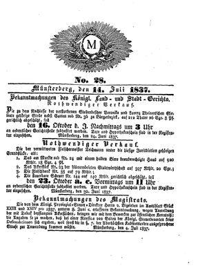 M vom 14.07.1837