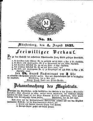 M vom 04.08.1837
