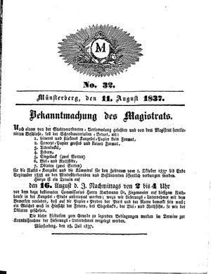 M vom 11.08.1837
