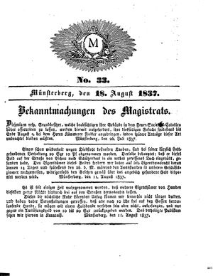 M vom 18.08.1837