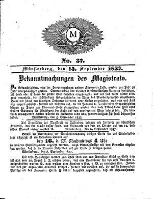 M vom 15.09.1837