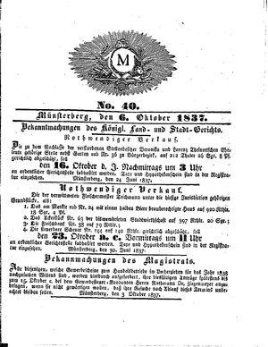 M vom 06.10.1837