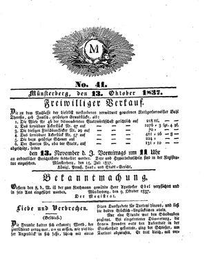 M vom 13.10.1837