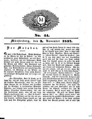M vom 03.11.1837