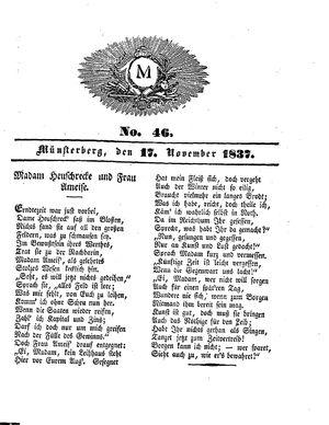 M vom 17.11.1837