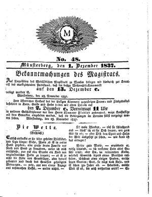 M vom 01.12.1837