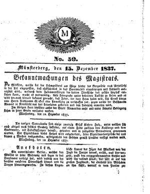 M vom 15.12.1837