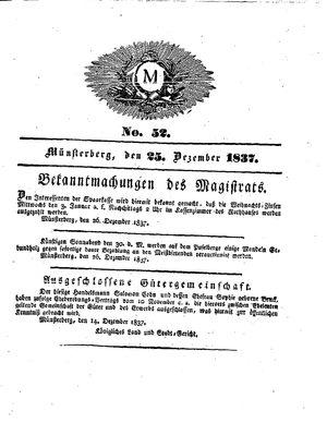 M vom 25.12.1837