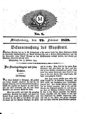 M vom 22.02.1839