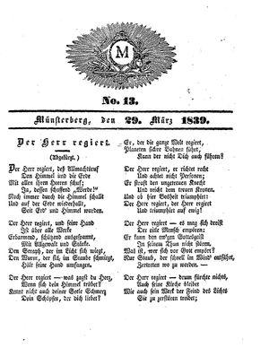 M vom 29.03.1839