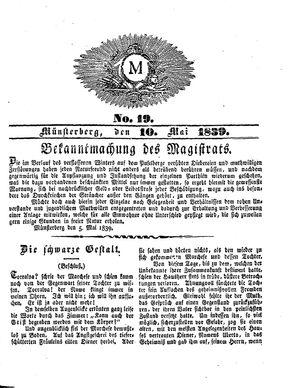 M vom 10.05.1839