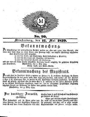M vom 17.05.1839