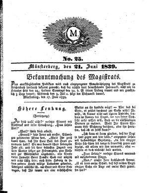 M vom 21.06.1839
