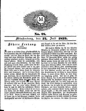 M vom 12.07.1839