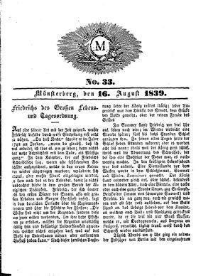 M vom 16.08.1839