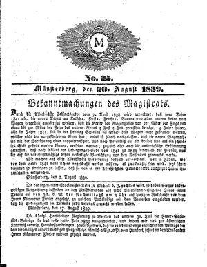 M vom 30.08.1839