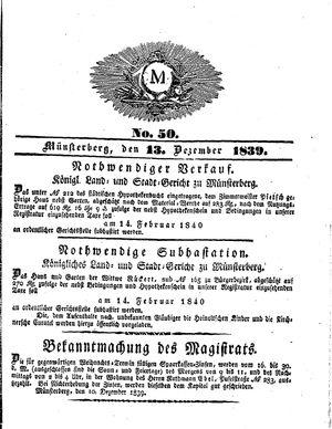 M vom 13.12.1839