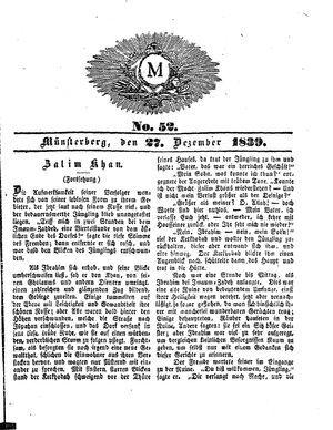 M vom 27.12.1839