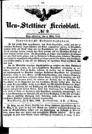 Neustettiner Kreisblatt vom 04.03.1863