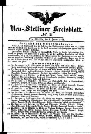 Neustettiner Kreisblatt vom 08.01.1864