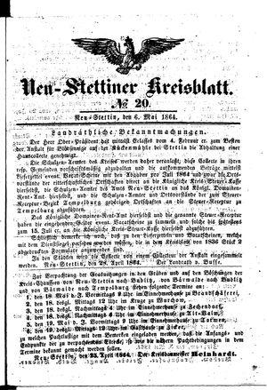 Neustettiner Kreisblatt vom 06.05.1864