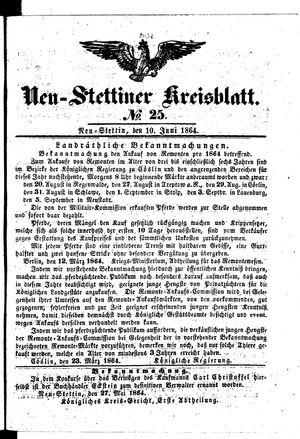 Neustettiner Kreisblatt vom 10.06.1864