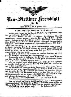 Neustettiner Kreisblatt vom 09.02.1866