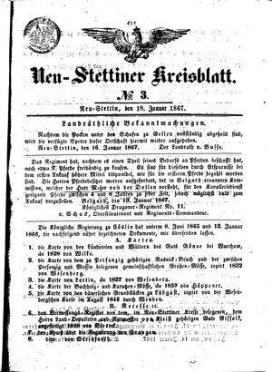 Neustettiner Kreisblatt vom 18.01.1867