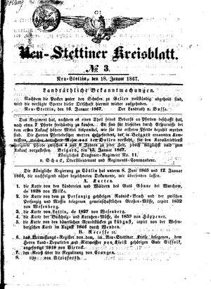 Neustettiner Kreisblatt vom 18.01.1868