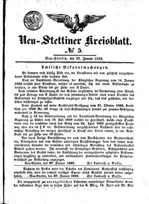 Neustettiner Kreisblatt vom 29.01.1869