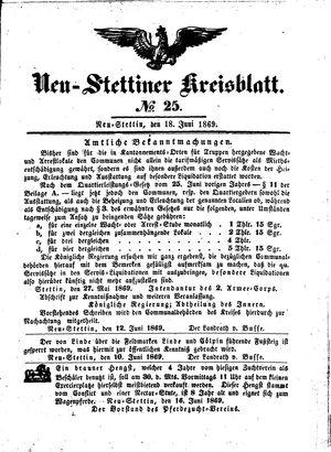 Neustettiner Kreisblatt vom 18.06.1869